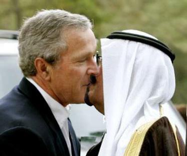Did Bush Really Kiss the Saudi King?