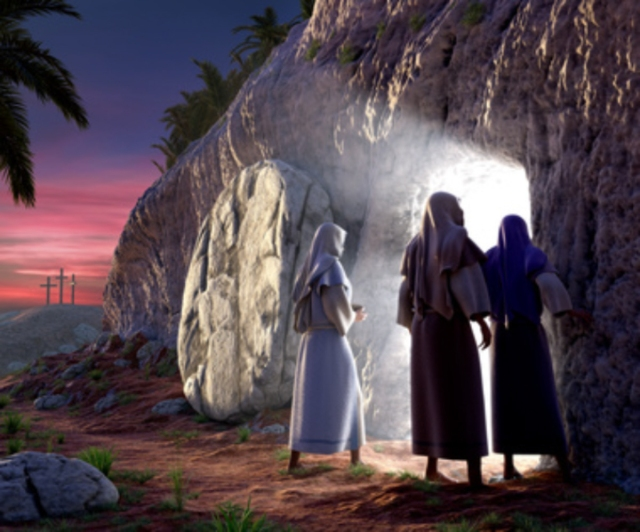 """He is risen; he is not here."" - Mark 16:6"