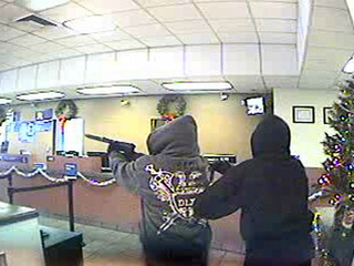 From the US Bank surveillance camera.
