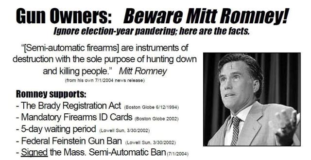 Romney Guns
