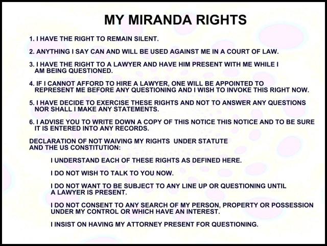 miranda rights