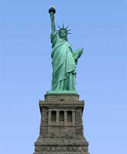 """Give me your huddled masses yearning to breathe free."""