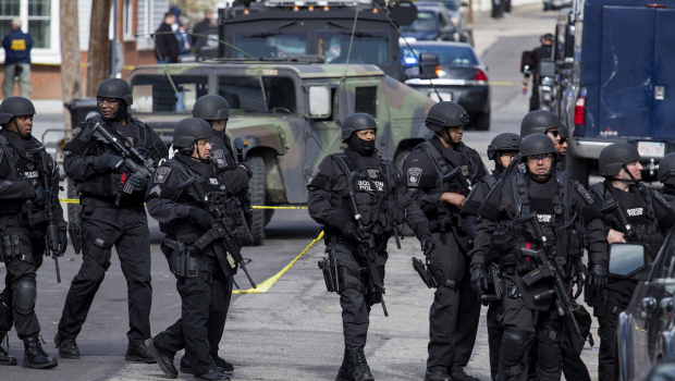 boston martial law