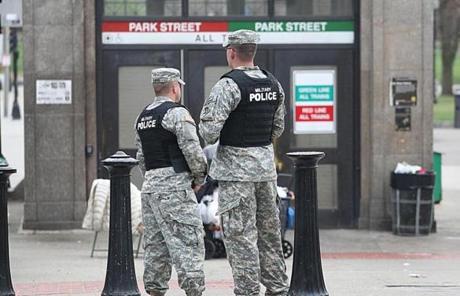 boston military cops