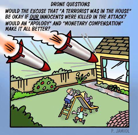 drones your house