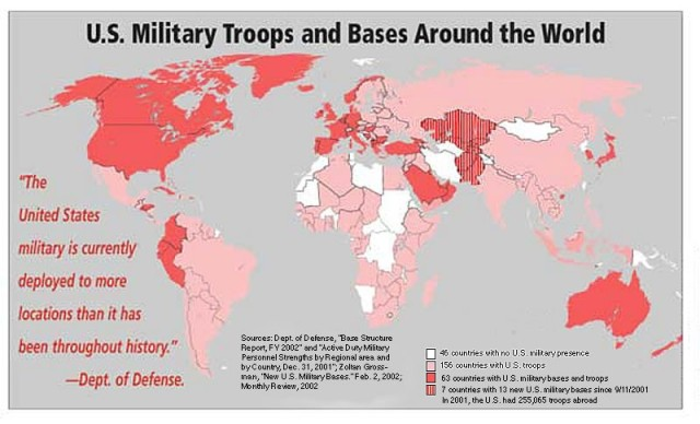us military bases around the world