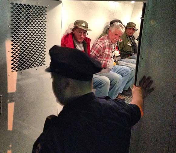 vets arrested nyc