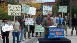 Colorado veterans say LEGALIZE!