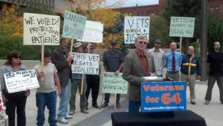 Colorado veterans say LEGALIZE!
