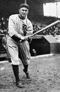 Ty Cobb. The Georgia Peach.