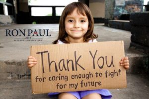 ron paul - thank you