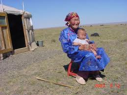 Somewhere in Mongolia.
