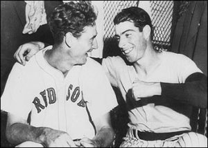 ted williams dimaggio