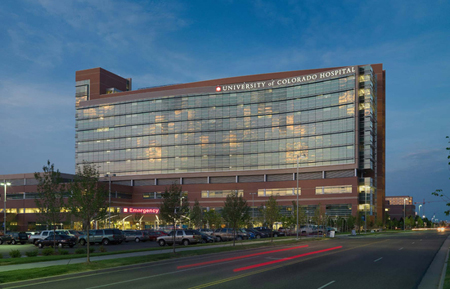 CU Medical Center, near the scene of the crime.
