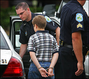 kid arrested