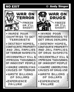 drugs terror