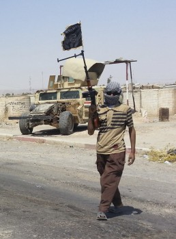 Does ISIS even have uniforms? Can they even afford boots? Credit: Reuters