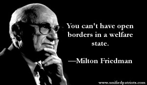 friedman borders welfare