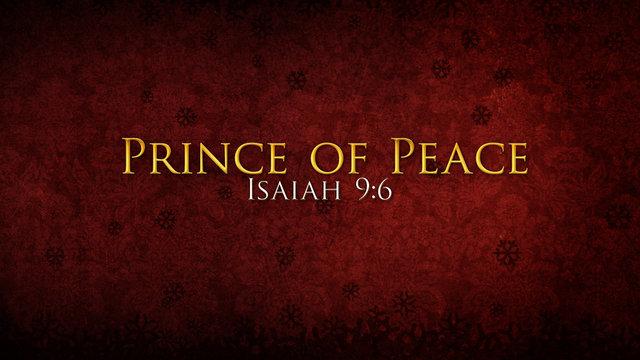 prince of peace | Foodforthethinkers's Blog