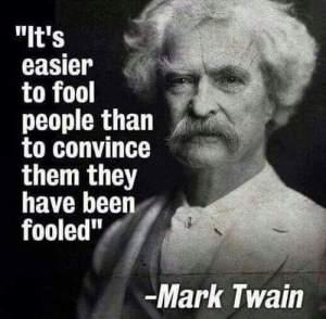 twain fool people