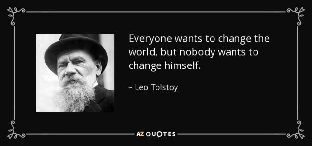 change tolstoy azquotes