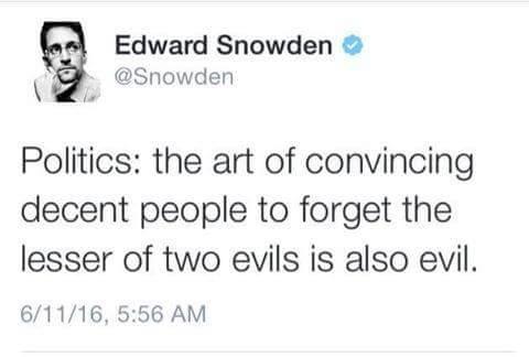 evil snowden