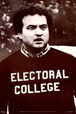 belushi electoral college